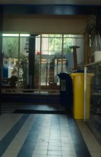 School, Hilversum. Scan of slide taken by author.